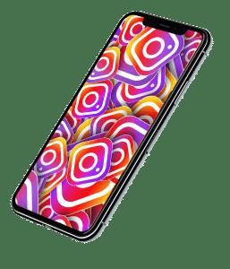 social media marketing smartphone